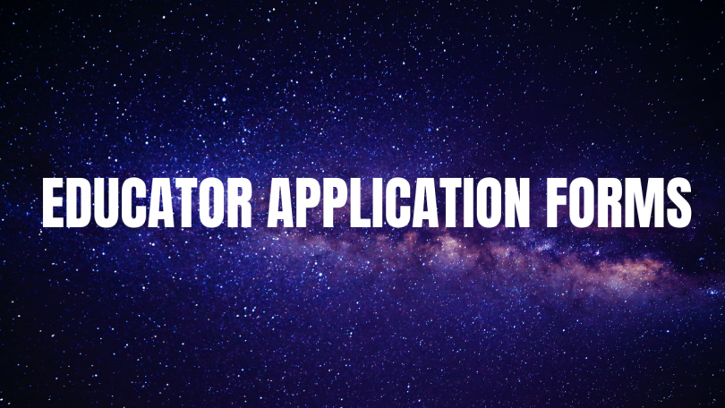 Educator Application Forms